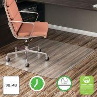 Deflecto EconoMat® Non-Studded Anytime Use Chairmat for Hard Floors DEFCM2E142COM