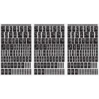 """Rub 'N' Etch Designer Stencils 5""""X8"""" 3/Pkg NOTM341668"""