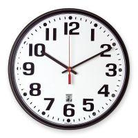 SkilCraft Self-Set Wall Clock NSN5573148