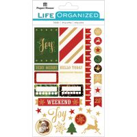 "Paper House Life Organized Planner Stickers 4.5""X7.5"" NOTM529178"