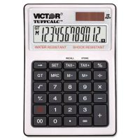 Victor TUFFCALC Desktop Calculator, 12-Digit LCD VCT99901