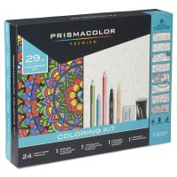 Prismacolor Complete Toolkit with Colored Pencils and 8 Page Coloring Book SAN1978739