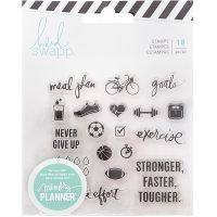 Heidi Swapp Memory Planner Clear Stamps NOTM355536