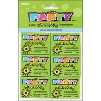 Party Favors 6/Pkg NOTM150977
