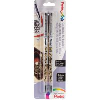 Gel Roller Fabric Pens 1mm 2/Pkg NOTM133375