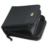 Case Logic CD/DVD Wallet, Holds 32 Discs, Black CLG3200038