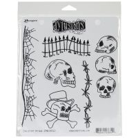 """Dyan Reaveley's Dylusions Cling Stamp Collections 8.5""""X7"""" NOTM088356"""