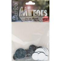 Round Glass Mirrors 25/Pkg NOTM409560