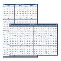 House of Doolittle Recycled Laminated Write-On/Wipe-Off Jumbo Yearly Wall Calendar, 66 x 33, 2019 HOD3962