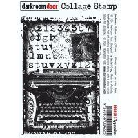 """Darkroom Door Cling Stamp 4.5""""X3"""" NOTM047852"""