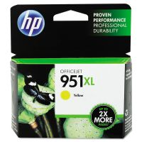 HP 951XL, (CN048AN) High Yield Yellow Original Ink Cartridge HEWCN048AN