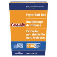 Cascade Professional Fryer Boil Out, Concentrated Powder, 5.3lb Box, 6/Carton PGC59097