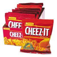 Sunshine Cheez-It Crackers, 1.5oz Single-Serving Snack Pack, 8/Box KEB12233