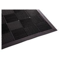 Guardian Parquet Wiper Scraper Mat, 24 x 36, Black MLLPARQUET2X3