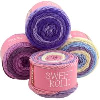 Premier Sweet Roll Yarn - Grape Swirl NOTM063176