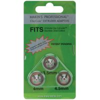 Makin's Professional ClayCore Extruder Adapters 3/Pkg NOTM341446