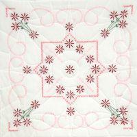 """Stamped Quilt Blocks 18""""X18"""" 6/Pkg NOTM493895"""