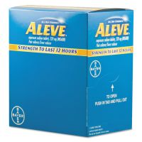 Aleve Pain Reliever Tablets, 50 Packs/Box PFYBXAL50