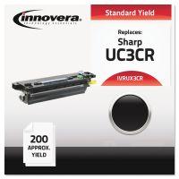Innovera Compatible UX3CR Thermal Transfer Print Cartridge, Black IVRUX3CR