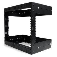 StarTech.com 8U Open Frame Wall Mount Equipment Rack - Adjustable Depth SYNX2922510