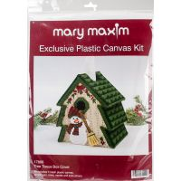 "Mary Maxim Plastic Canvas Tissue Box Kit 5"" NOTM052490"