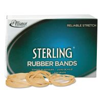 Alliance Sterling Rubber Bands Rubber Bands, 117B, 7 x 1/8, 250 Bands/1lb Box ALL25405
