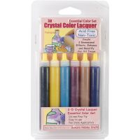 3D Crystal Lacquer Color Pens 6/Pkg NOTM287264