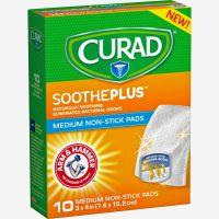 Curad SoothePlus Medium Non-stick Pads MIICUR47134AH