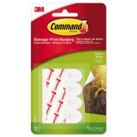 Command Poster Strips, White, 12/Pack MMM17024ES