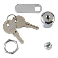 Rubbermaid Commercial Replacement Lock & Key for Locking Janitor Cart Cabinet SGS6181L2
