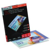 Swingline GBC EZUse Thermal Laminating Pouches, 10 mil, 11 1/2 x 9, 50/Box SWI3200599