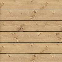"""Jillibean Soup Mix the Media 3D Pine Wood Plank 14""""x14"""" NOTM208291"""