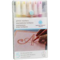 Glitter Markers 4/Pkg NOTM479865
