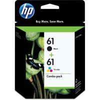 HP 61, (CR259FN) 2-pack Black/Tri-Color Original Ink Cartridges HEWCR259FN
