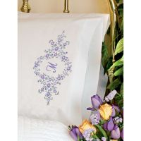 "Stamped Embroidery Pillowcase Pair 20""X30"" NOTM288248"