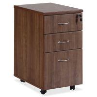 Lorell Essentials 3-Drawer Mobile File Cabinet LLR69983