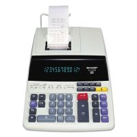 Sharp EL1197PIII Two-Color Printing Desktop Calculator, Black/Red Print, 4.5 Lines/Sec SHREL1197PIII
