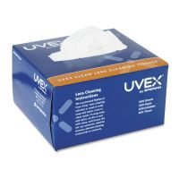 Honeywell Uvex Clear Lens Cleaning Tissues, 500/Box UVXS462