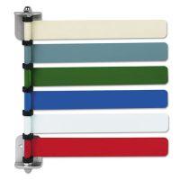 Medline Room ID Flag System, 6 Flags, Primary Colors MIIOMD291716