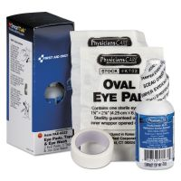 First Aid Only SmartCompliance Eyewash Set with Eyepads and Adhesive Tape FAOFAE6022