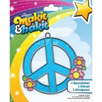 Makit & Bakit Peace Sign Suncatcher Kit NOTM413175