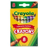 Crayola Classic Color Crayons, Peggable Retail Pack, Peggable Retail Pack, 8 Colors CYO523008