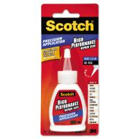 Scotch Performance Repair Glue in Precision Applicator, 1.25 oz, Clear MMMADH669