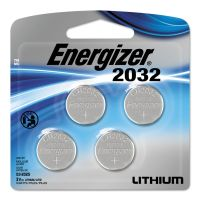 Energizer Watch/Electronic/Specialty Battery, 2032, 3V, 4/Pack EVE2032BP4