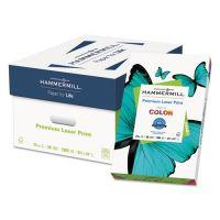 Hammermill Laser Print Office Paper, 98 Brightness, 24 lb, 8 1/2 x 14, White, 500 Sheets/Ream HAM104612