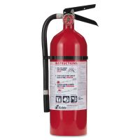 Kidde Pro 210 Fire Extinguisher, 4lb, 2-A, 10-B:C KID21005779