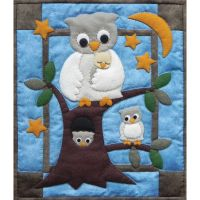 Owl Family Wall Quilt Kit NOTM051054