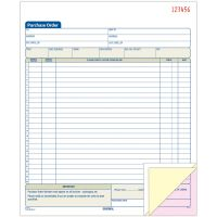 Adams 3-Part Carbonless Purchase Order Book ABFTC8131