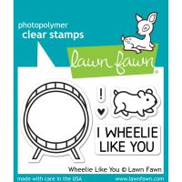 """Lawn Fawn Clear Stamps 3""""X2"""" NOTM125319"""