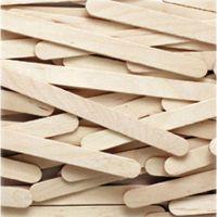 Chenille Kraft Natural Wood Craft Sticks, 4 1/2 x 3/8, Wood, Natural, 1000/Box CKC377401